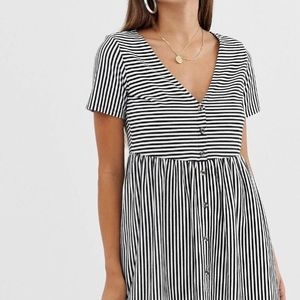 Smock striped dress